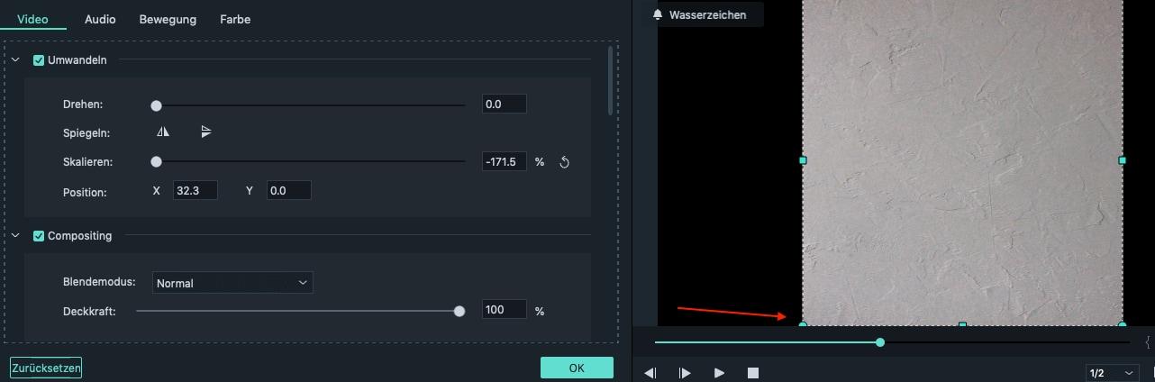 change video orientation