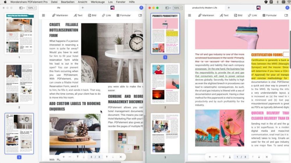 Vergleichen Sie PDF-Dateien bei Mac