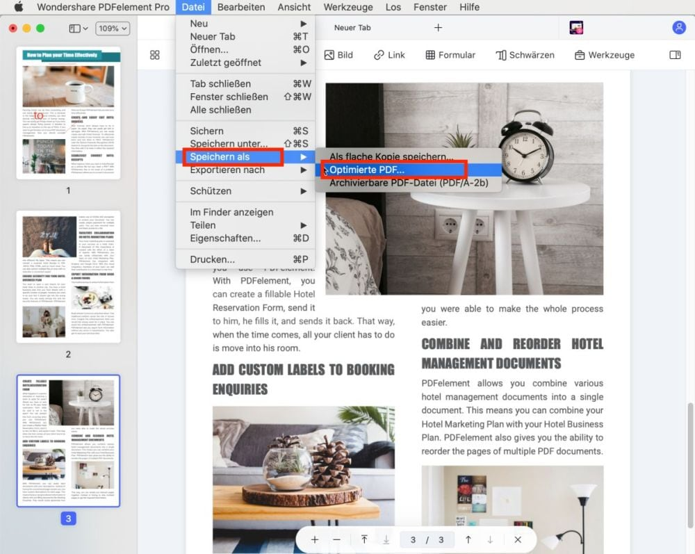 how to compress a pdf on mac