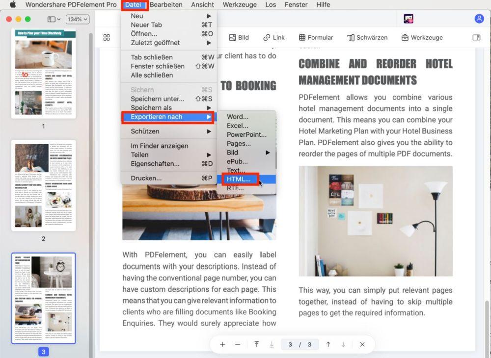 wie man auf einem mac ein pdf in eine url umwandelt