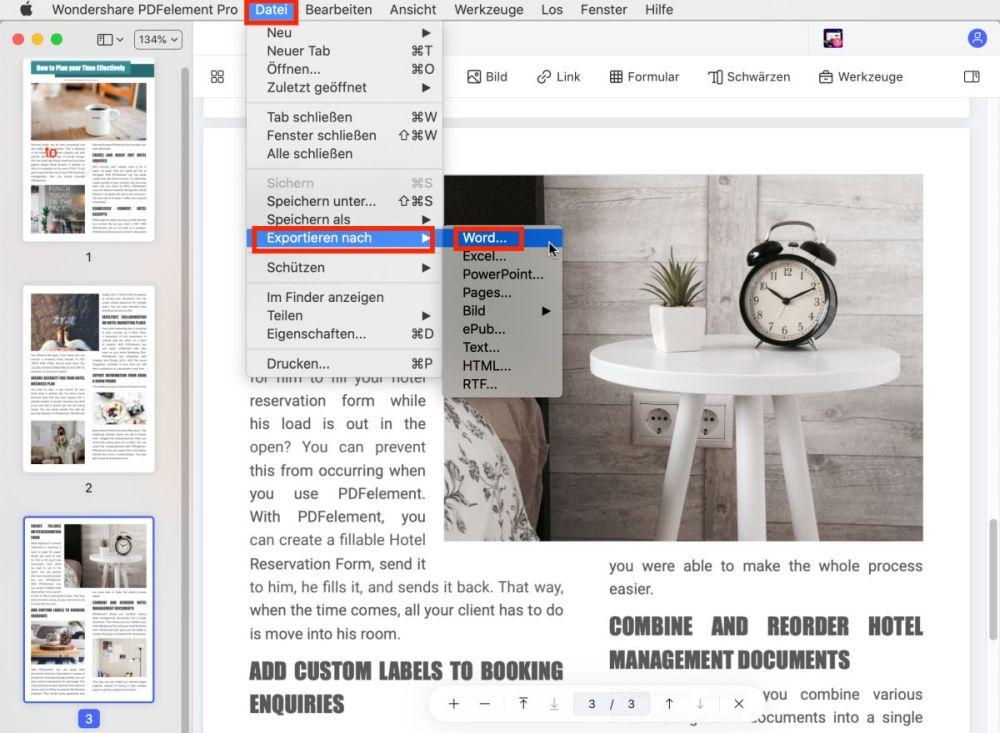 Nitro PDF für Mac Alternative