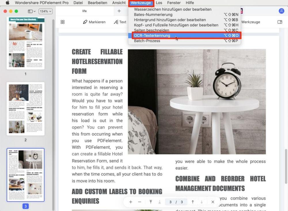 Nitro PDF Editor für Mac Alternative