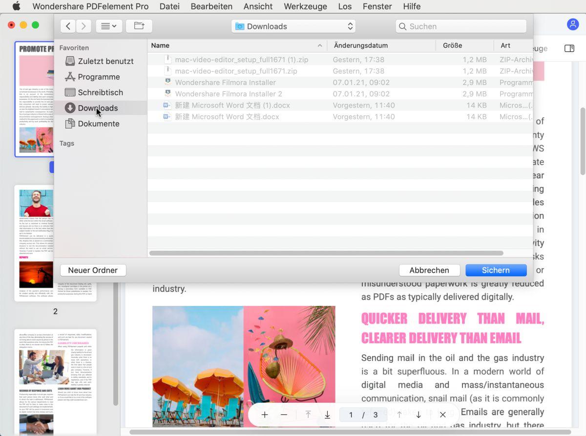 PDF zu PNG Mac