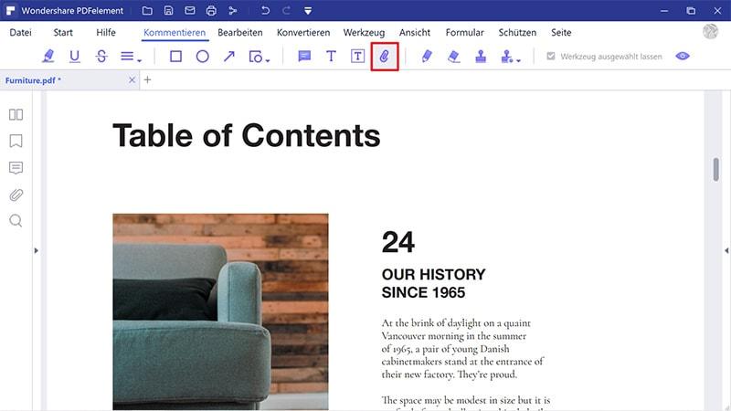 wie sie ein pdf in excel anhängen