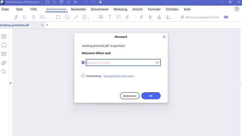 pdf Passwort-Entferner