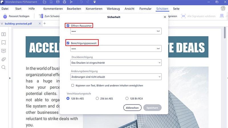 Wie Sie Passwörter ohne Software aus PDFs entfernen