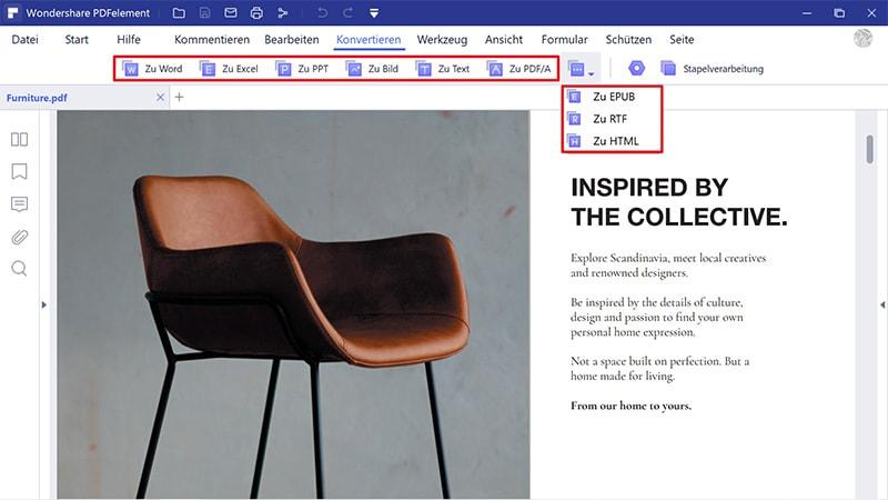 Indesign in Word exportieren