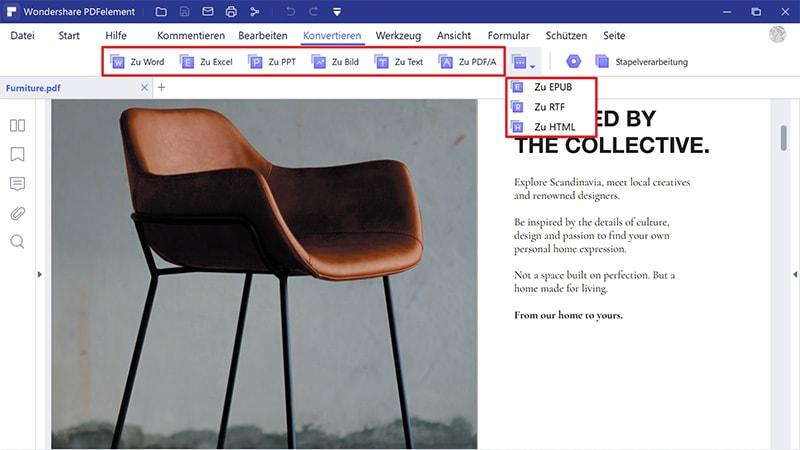 Wie speichert man ein Word-Dokument als PDF