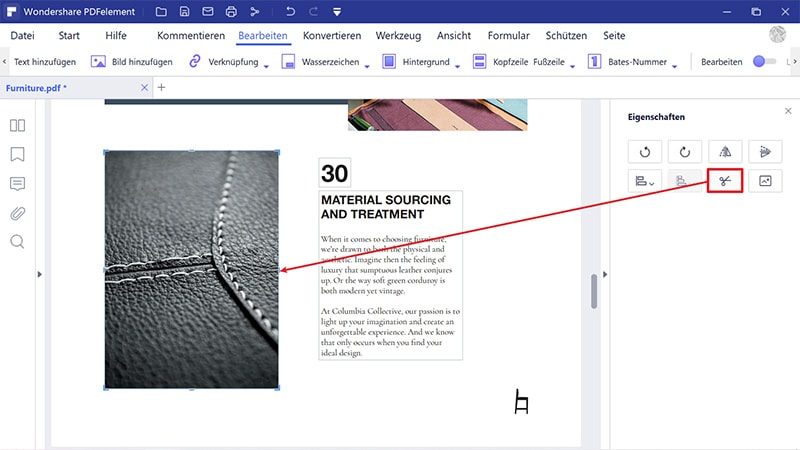 PDF-Bild zuschneiden