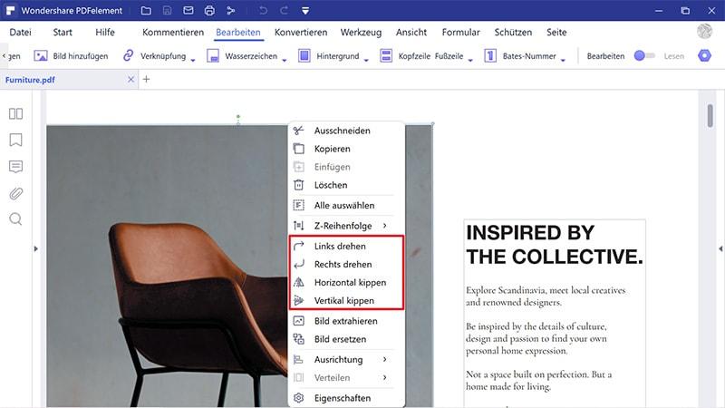 Größe von PDF Bildern ändern