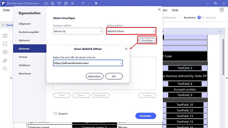 Adobe-PDF in ausfüllbares Formular konvertieren