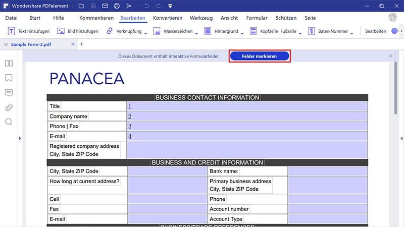 pdf-formulare ausfüllen und unterschreiben windows