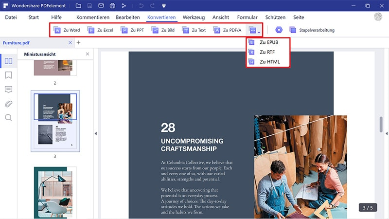 zip-datei zu pdf