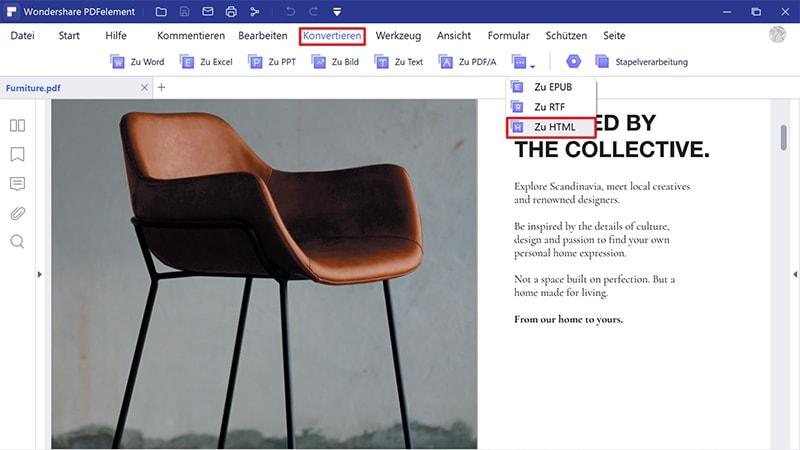 PDF zu URL online