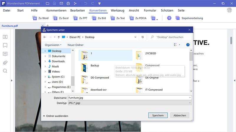Wie man PDF als PNG speichert