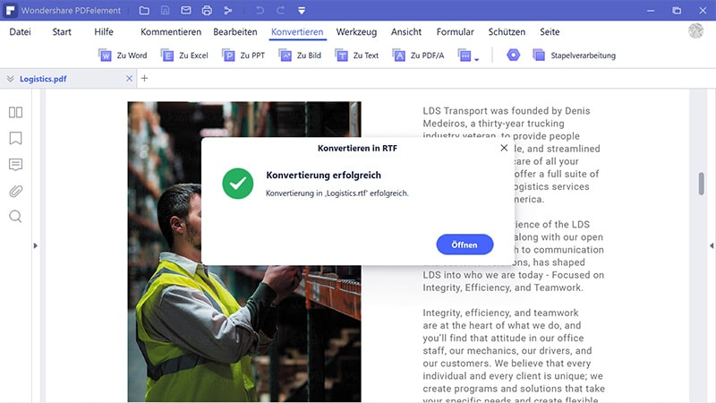 pdf zu rich text dokument konverter