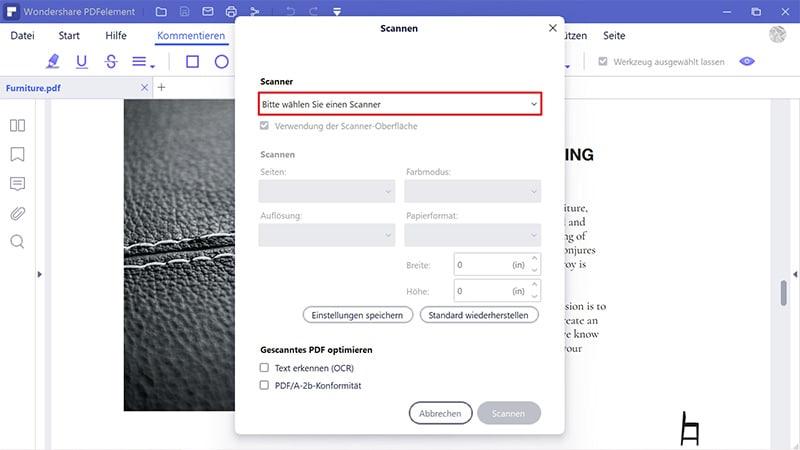 freeware scan zu pdf