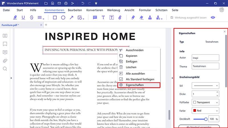 wie Sie ein pdf-Formular bearbeiten