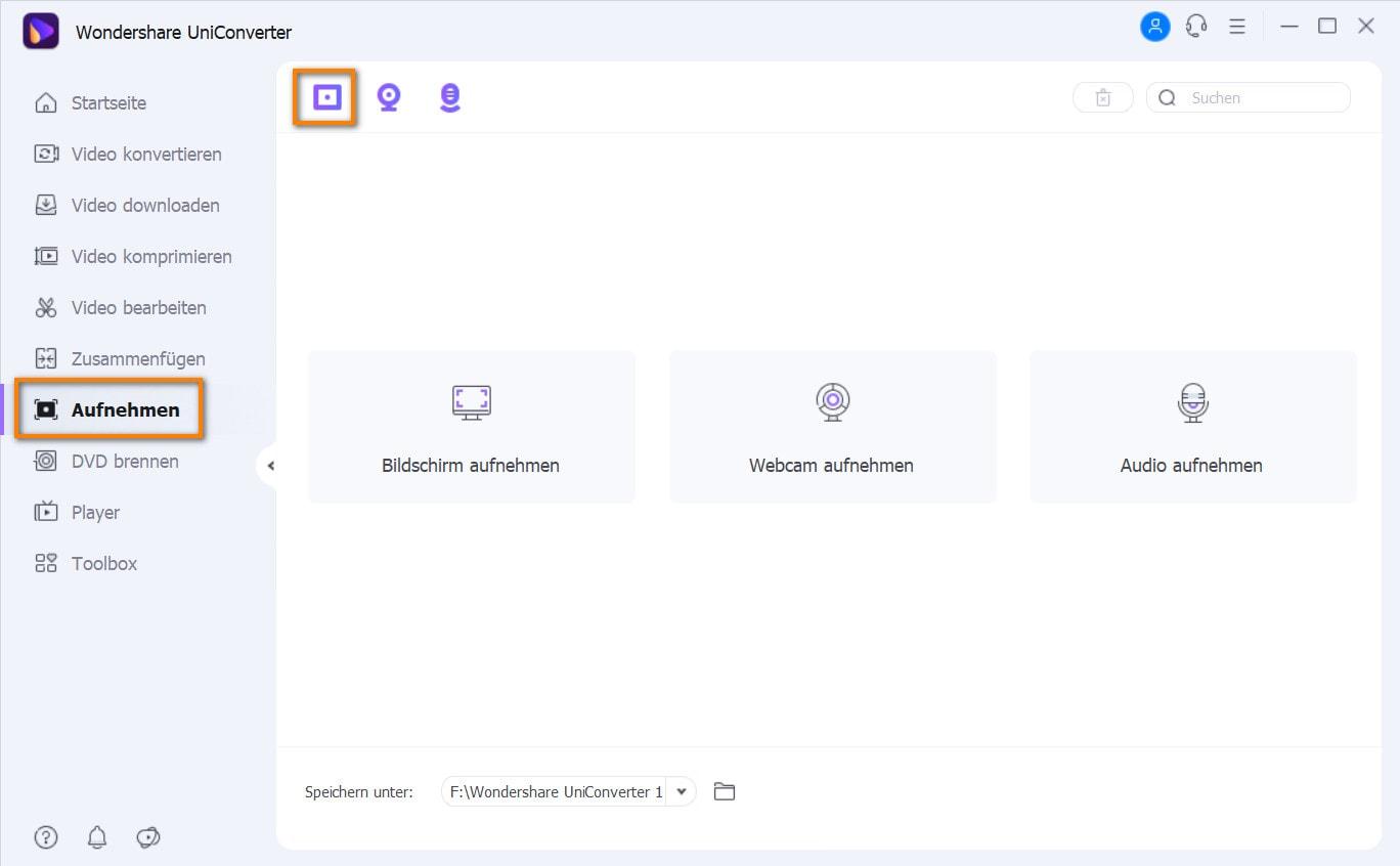 Mac Bildschirmaufnahme