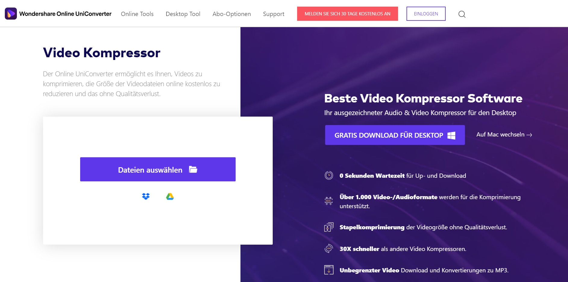 Video komprimieren für E-Mail online und kostenlos