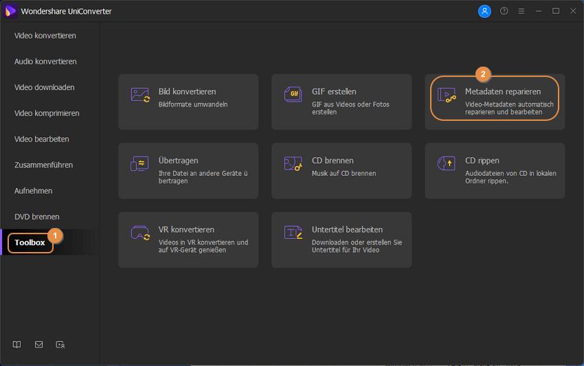Video Metadaten bearbeiten Schritt 1: Wondershare Tag Editor herunterladen