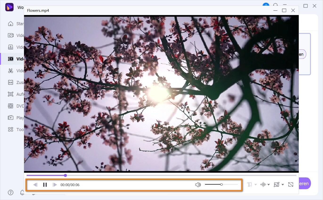 wiedergabe einstellungen für VOB Windows 10