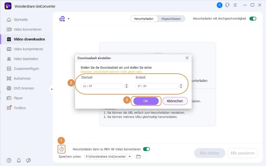 Tipps für die Planung der Download Zeit