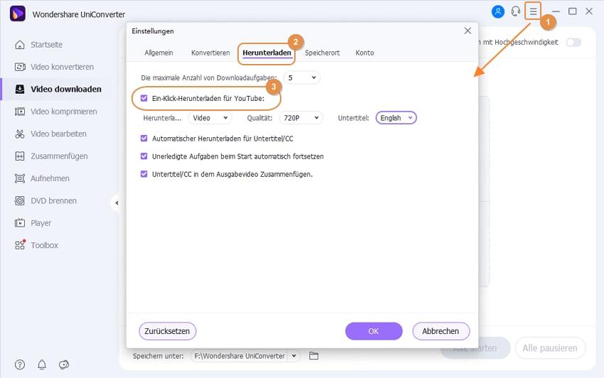 Tipps für die Video Download Einstellungen