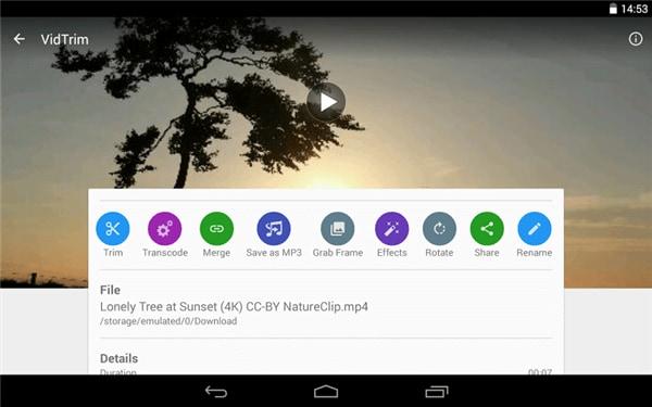 Top 3 MP4 Cutter für Android, um MP4 Videos auf Android zusammenzufügen - VidTrim Pro