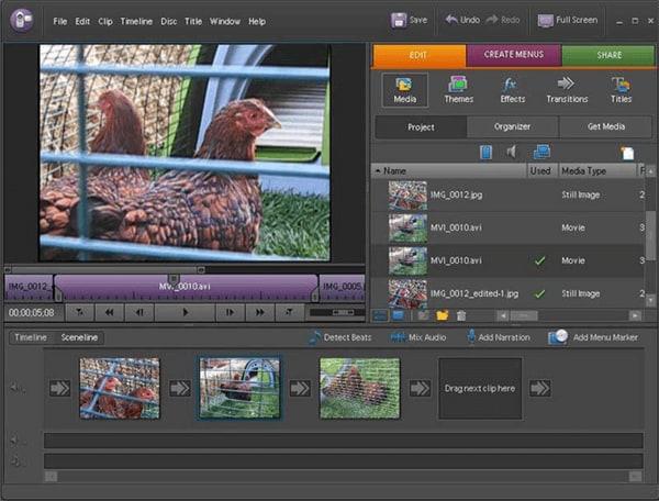 Top 3 MP4 Video Merger für Mac, um MP4 Videos auf einem Mac zusammenzufügen - Adobe Premier Elements 13