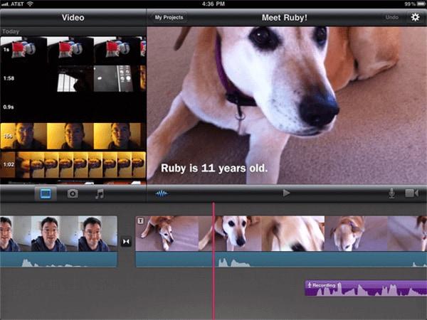 Bester MP4 Cutter für iOS, um MP4 Videos auf iPhone zusammenzufügen - iMovie